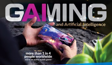 Mobile Gaming and Artificial Intelligence - Infographic