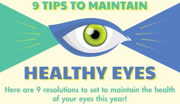 9 Key Methods to Keep Your Eyes Healthy - Infographic