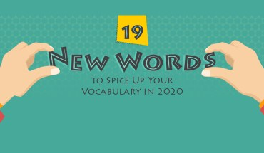 Contemporary Language Lessons: 19 Popular New Words for the New Decade - Infographic