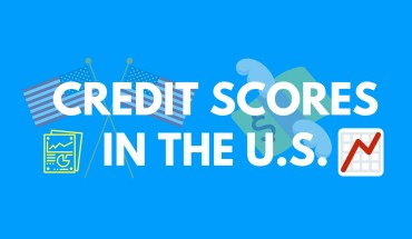 The Credit Score Map of USA: Top Vs Bottom Three - Infographic