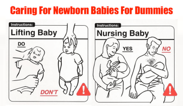 A Witty Take On Do's and Don'ts Of Raising A Baby - Infographic