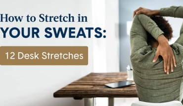 12 Desk Stretches to Relieve Posture Pain - Infographic