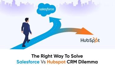 Salesforce vs HubSpot CRM - Infographic