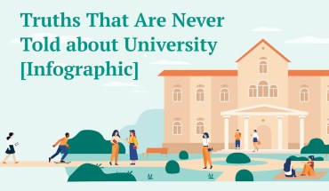 Truths That Are Never Told about University - Infographic