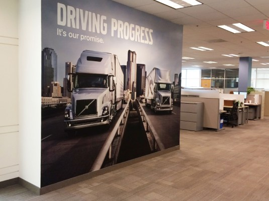 Volvo Trucks - Office Wall Graphics | Graphic Visual Solutions - Wide-Format Graphics