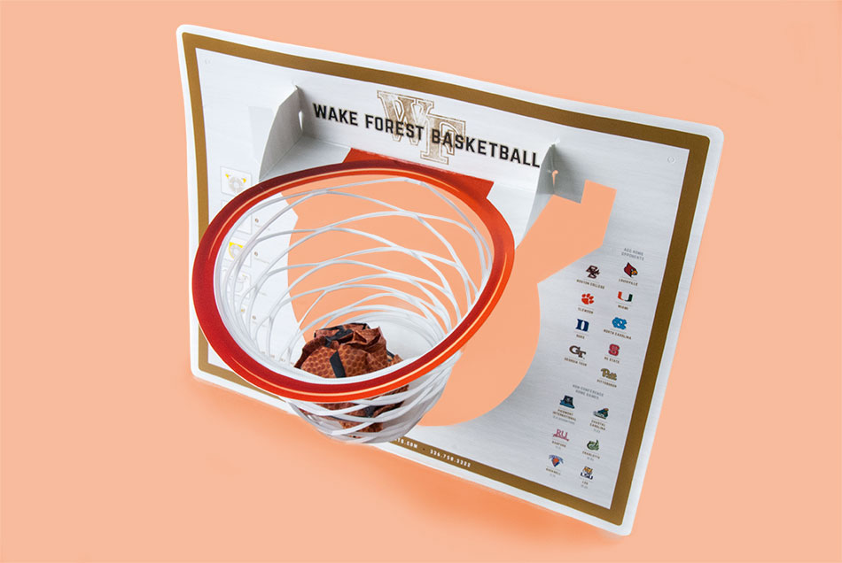 "Wake Forest University - ""DeacShot"" Basketball Promotional Piece 
