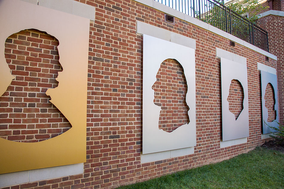 Wake Forest University - Custom Metallic Graphics | Graphic Visual Solutions - Wide-Format Graphics