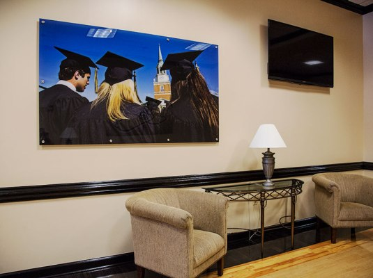 Wake Forest University - Custom Lexan Graphics | Graphic Visual Solutions - Wide-Format Graphics
