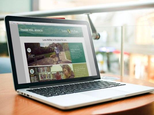 Lees McRae College - Explore Lees McRae Campaign | Graphic Visual Solutions - Cross Media Campaigns