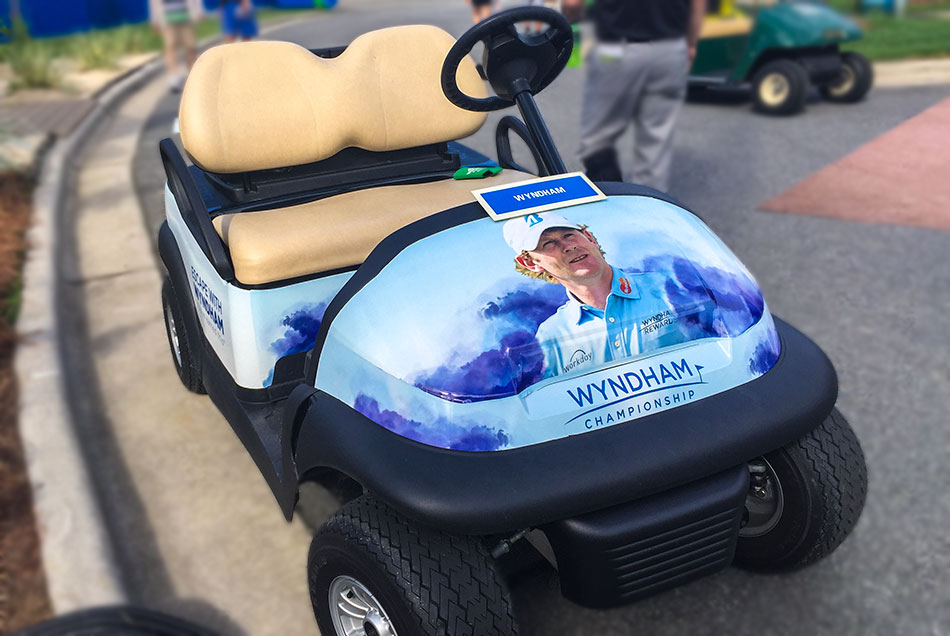 Wyndham Championship - Airport, Hotels and Course Graphics | Graphic Visual Solutions - Wide-Format Graphics