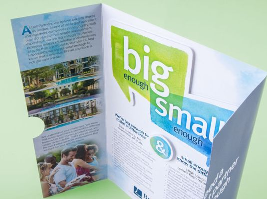 "Bell Partners - ""Big Enough/Small Enough"" Brochure 