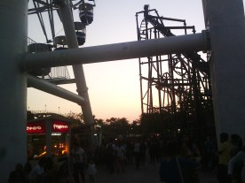 Amusement parks produce this kind of happiness that cannot be described by words.