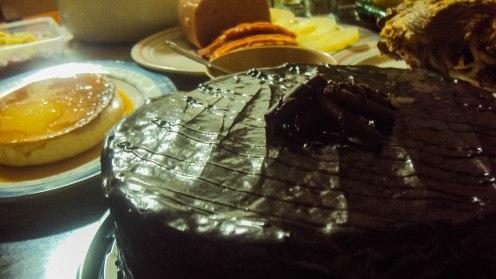 Chocolatey cake for new year!