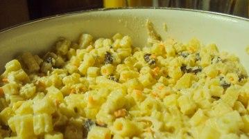 Mom's home-made macaroni salad