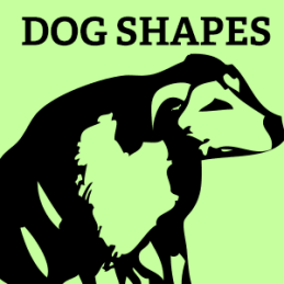 fonts-dogs-vector-shapes