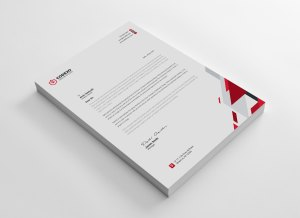 Elegant Letterheads Design
