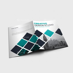 EPS Creative Presentation Folder Design