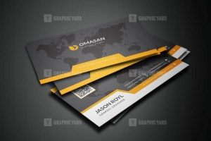 PSD Travel Business Cards