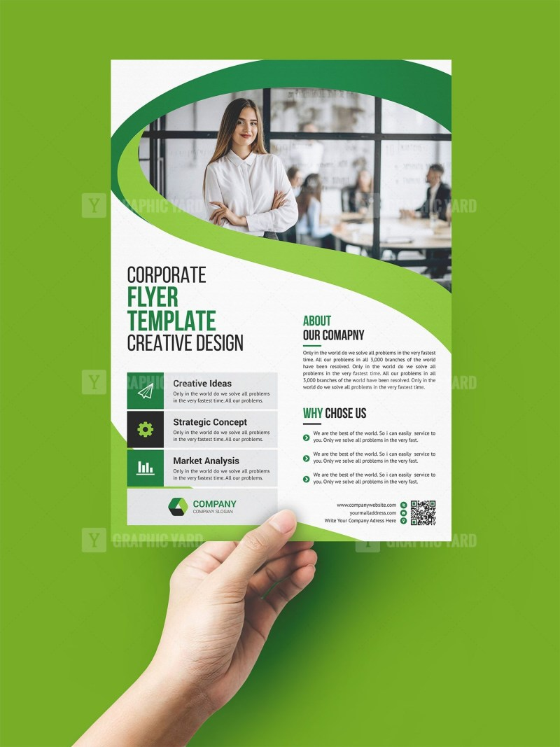 Outsourcing Flyer Template