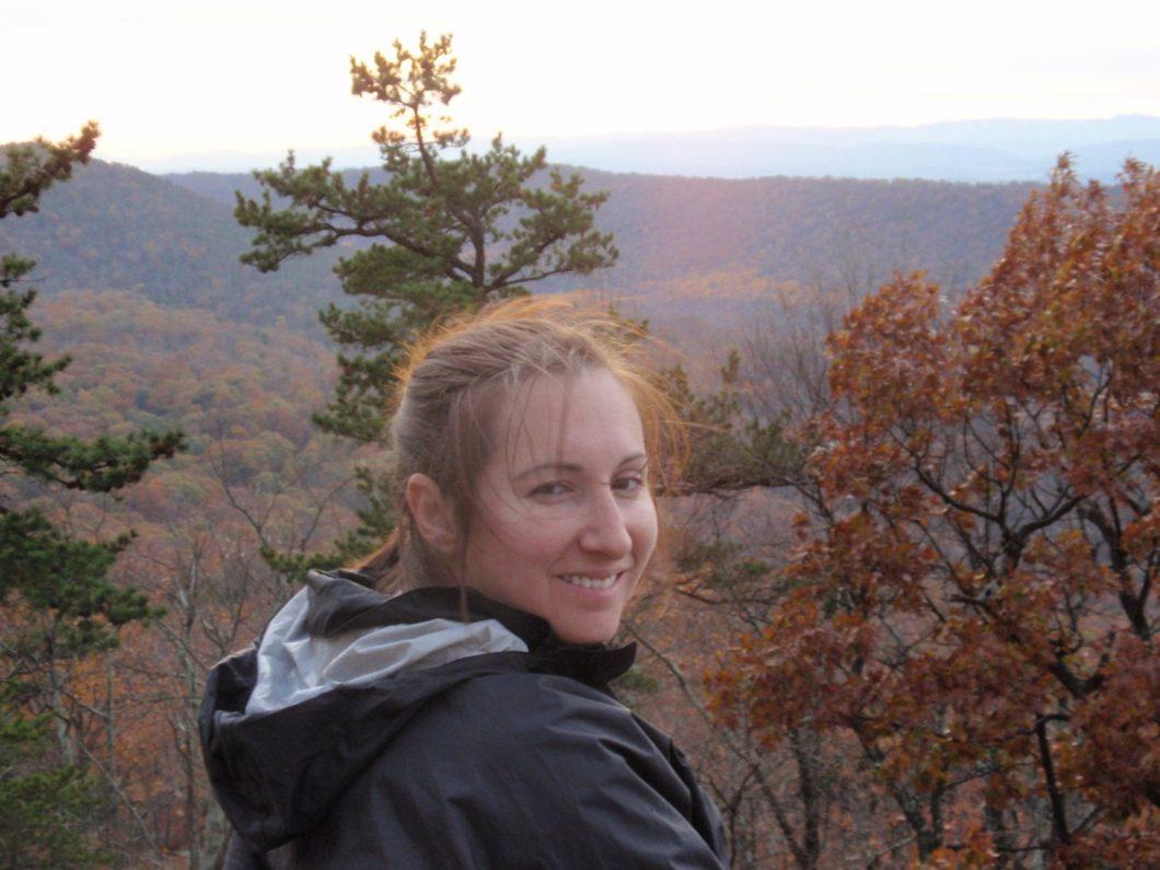 Jillian on Hike