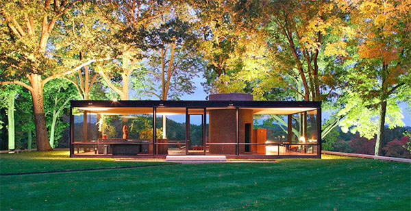 Philip Johnson - The Glass House