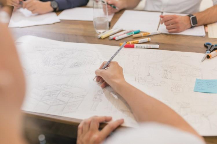 Zeichnen und Sketchnotes