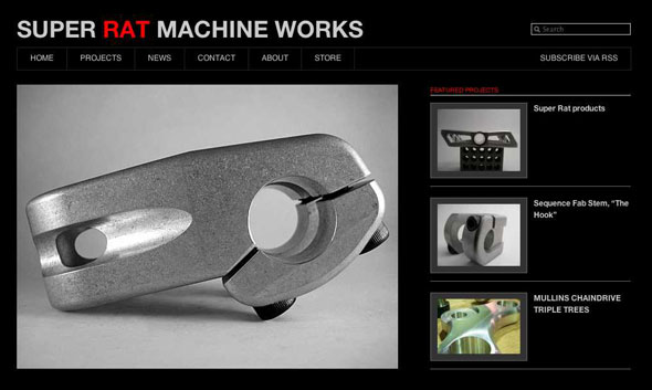 Super Rat Machine Works Website