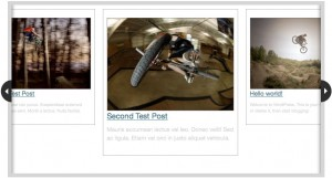 sliding content for wordpress screenshot