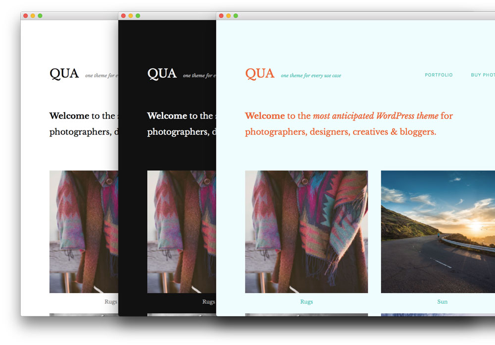 qua-wordpress-theme-colors
