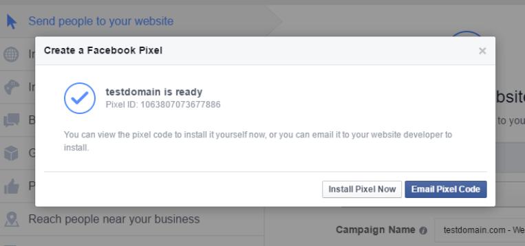 facebook pixel ready