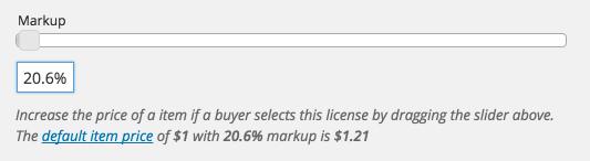 The Sell Media Markup slider.