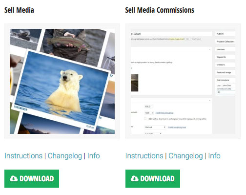 Sell Media Commissions