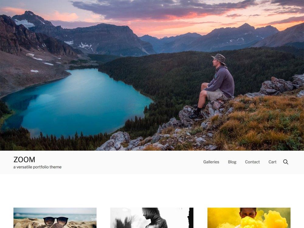 zoom wordpress theme