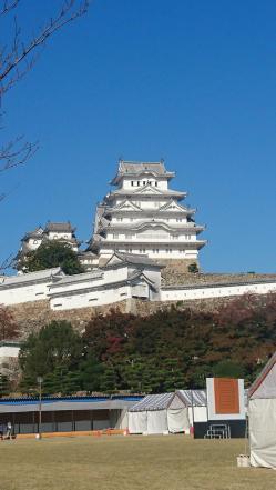 姫路城の天守入り口まで向かう途中でパシャリ