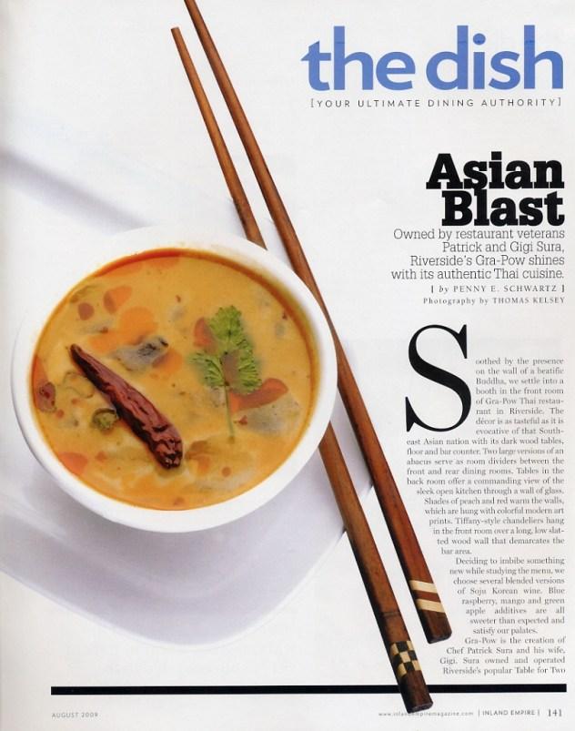 Inland Empire Magazine Review 2009