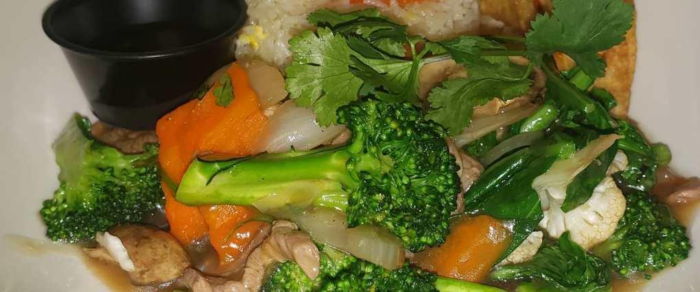 Broccoli and beef image