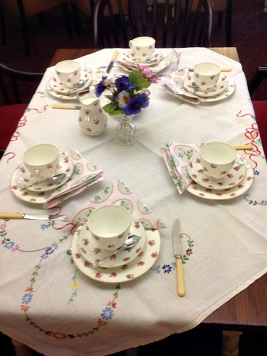 Party Table Setting Ideas & Astonishing Afternoon Tea Table Setting Ideas - Best Image Engine ...