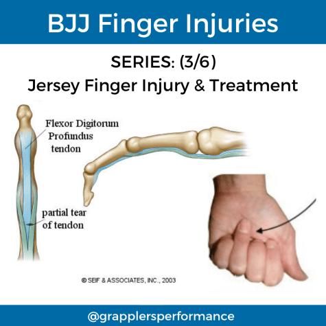 BJJ Finger Injury Jersey Finger