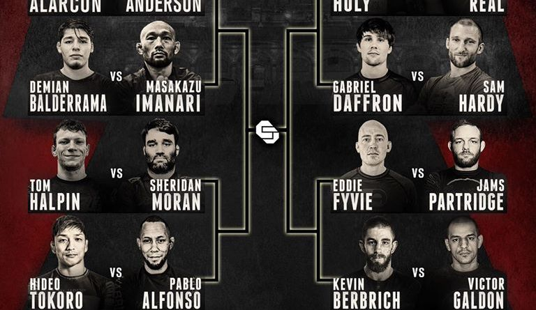 Combat Jiu Jitsu Featherweights Worlds Bracket 2020