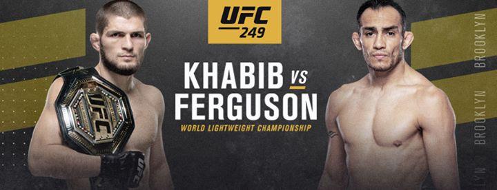 UFC 249 New Venue Khabib Nurmagomedov v Tony Ferguson