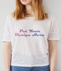 Gorgeous Girl T-Shirt MockUp