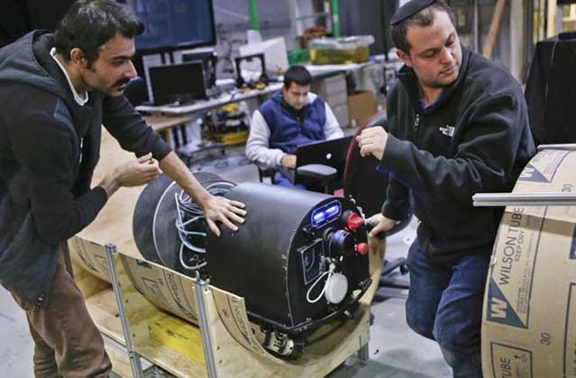 Robot Designed For Cleanup Uranium Plant Pipe