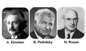 Einstein-Podolsky-Rosen paradox