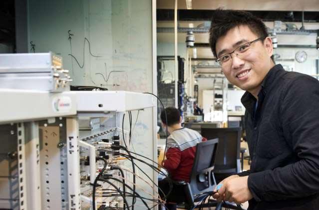 Hao Zhang at QuTech