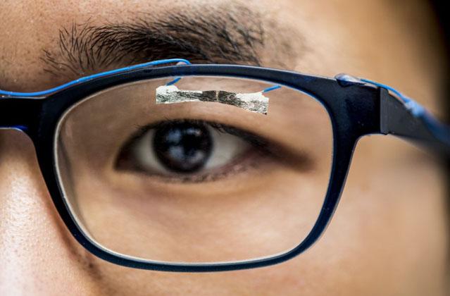 Tissue paper wearable sensors
