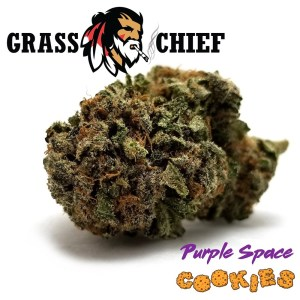 Purple Space Cookies Grass Chief