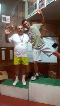 Lou Président Priolo et l'ancien Pellegrin