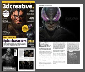 3d Creative Magazine Interview
