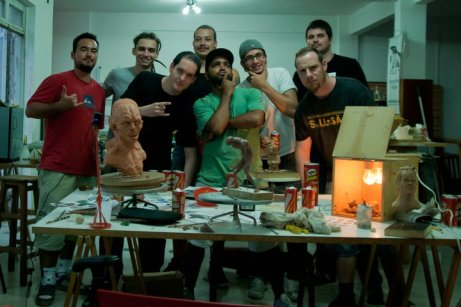 Sculpting studio - 2009