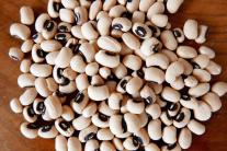 Schwarzaugenbohnen, Black eyed Beans,Haricot koki